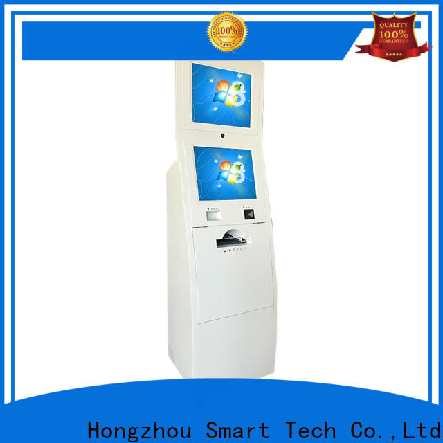 Hongzhou information kiosk machine with qr code scanning for sale