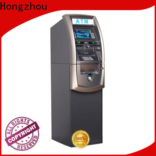 Hongzhou professional atm kiosk with touch screen for business
