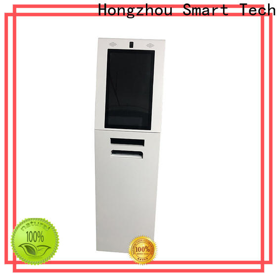 Hongzhou touch screen interactive information kiosk appearance in airport