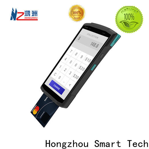 Hongzhou custom android pos for busniess in hotel