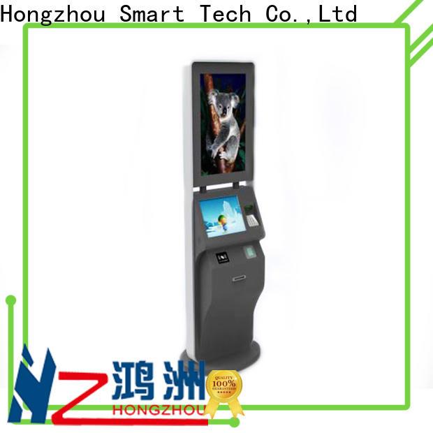 Hongzhou professional self service ticketing kiosk with wifi for sale
