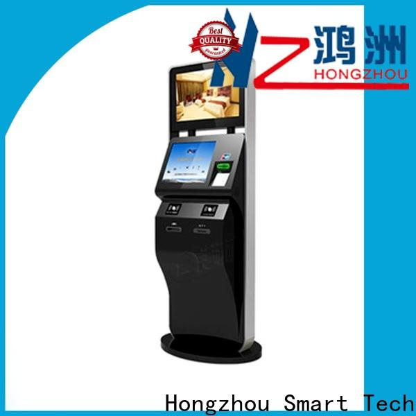 Hongzhou touch screen ticket kiosk machine supplier on bus station