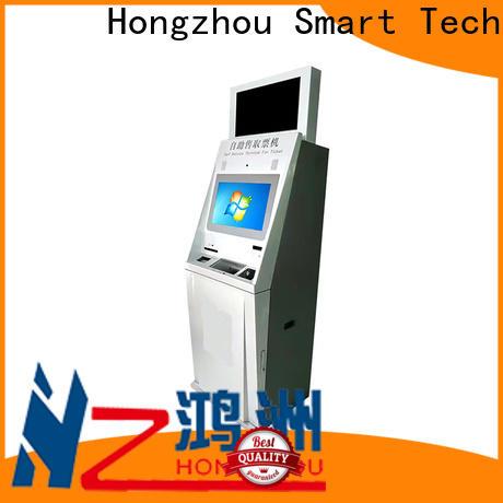 Hongzhou ticket kiosk machine with camera in cinema