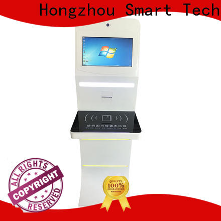 Hongzhou wholesale library self checkout kiosk factory for sale