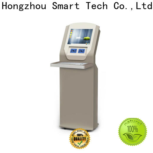 Hongzhou library self checkout kiosk for busniess in book store
