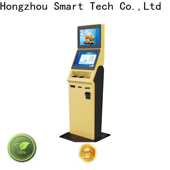 Hongzhou hotel self check in machine supplier for sale