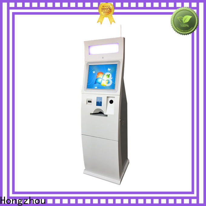 Hongzhou self payment kiosk machine for sale