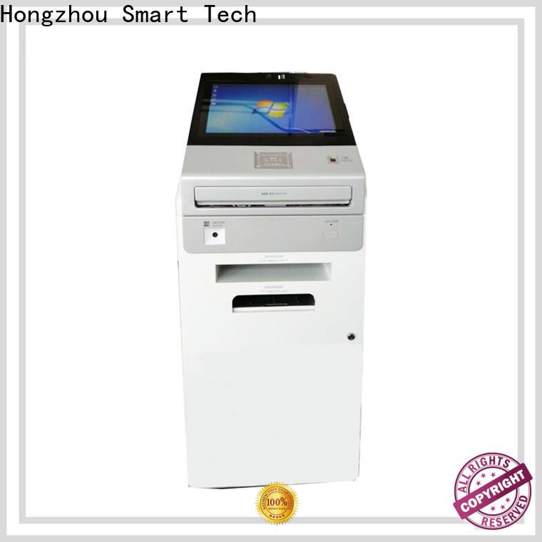 Hongzhou thermal information kiosk machine manufacturer in airport