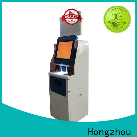 Hongzhou patient check in kiosk operated for patient
