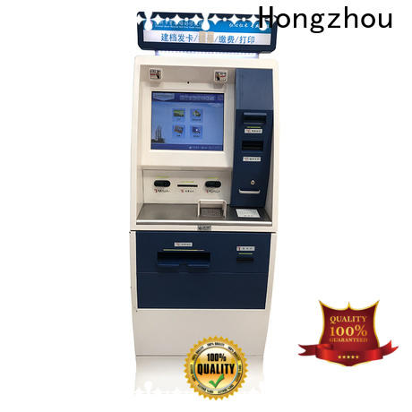 Hongzhou hospital kiosk factory for sale