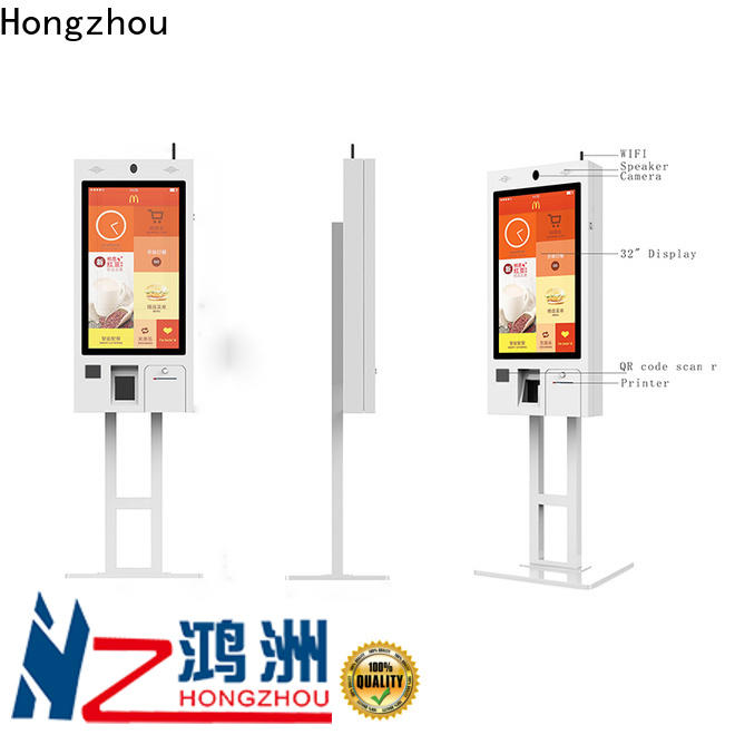 Hongzhou new self ordering kiosk manufacturers for restaurant