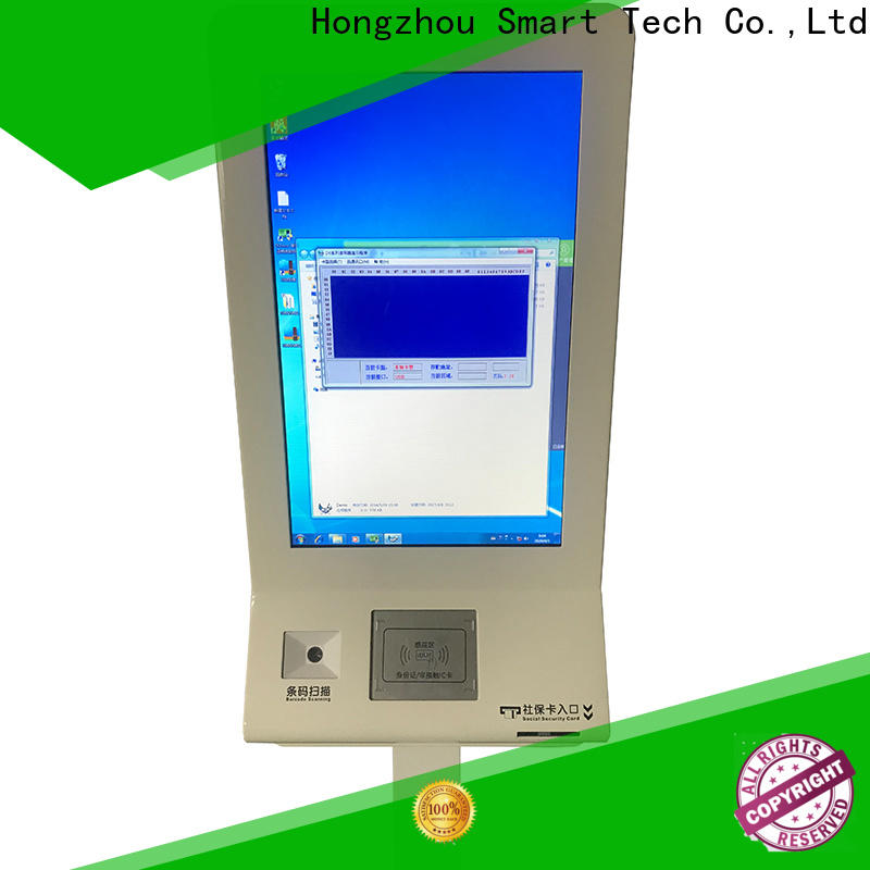 Hongzhou hospital check in kiosk supplier for sale