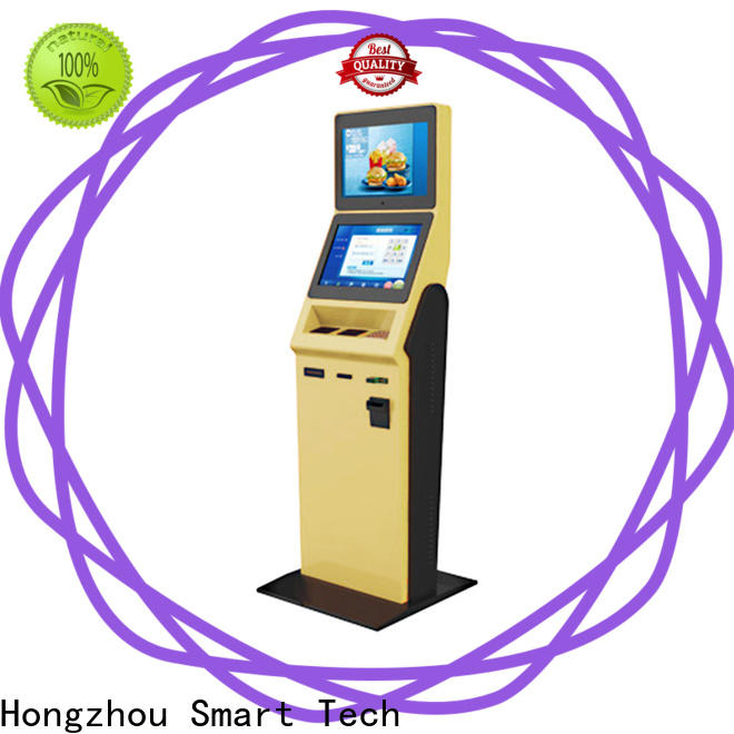 Hongzhou hotel self check in kiosk manufacturer for sale