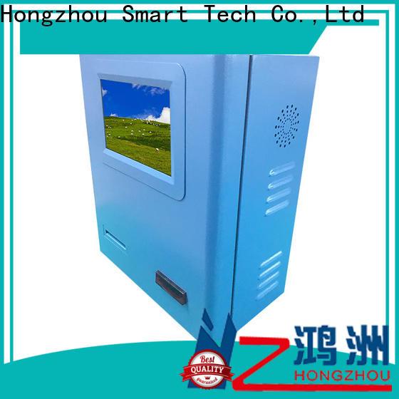 Hongzhou payment machine kiosk for busniess in hotel