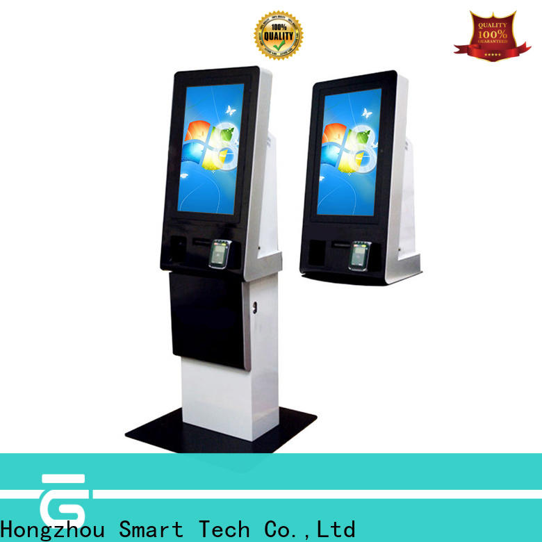 Hongzhou payment kiosk dispenser in bank