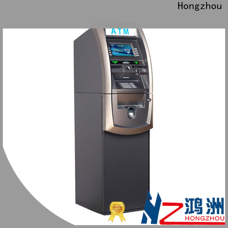 latest atm kiosk manufacturers with touch screen for transfer accounts
