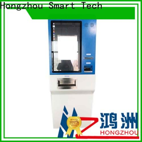 Hongzhou high quality automated payment kiosk supplier in hotel