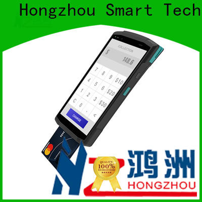 Hongzhou top android pos terminal with card reader in hotel