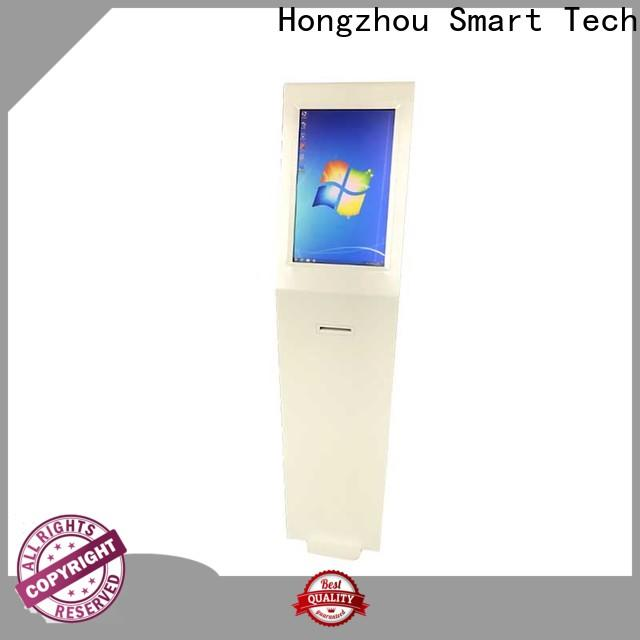 Hongzhou latest information kiosk with qr code scanning in airport