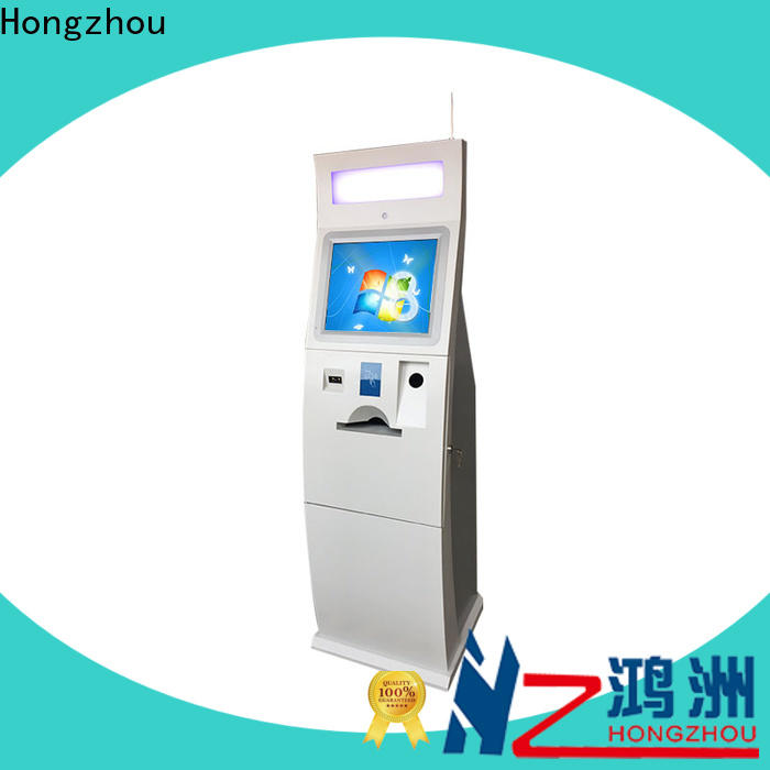 Hongzhou best self payment kiosk machine in bank