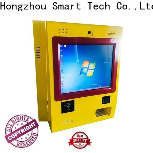 hd payment machine kiosk coated in hotel
