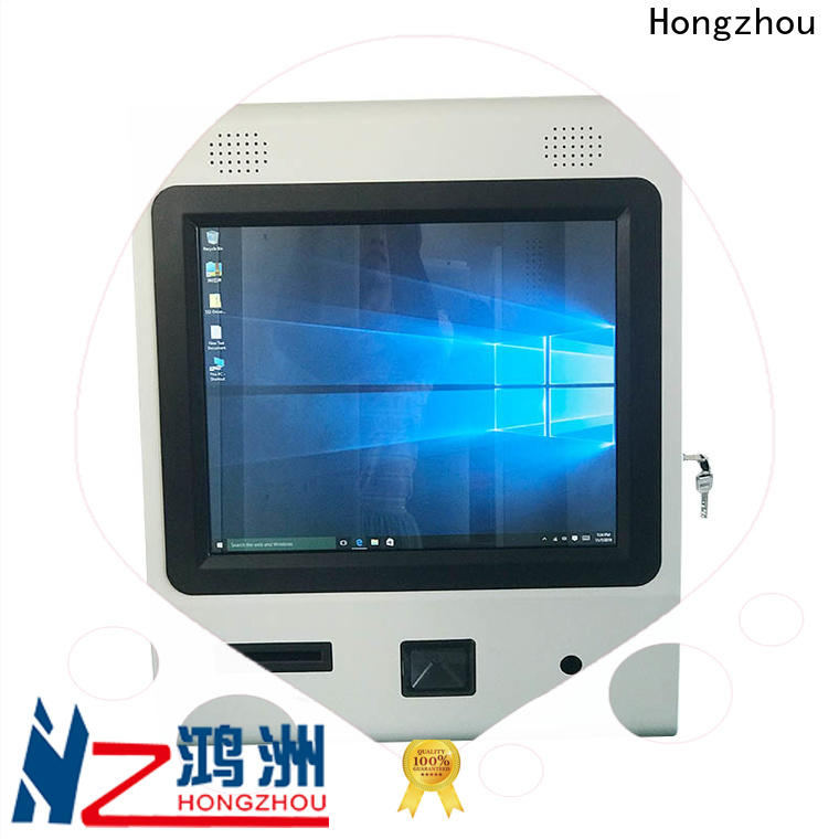 Hongzhou information kiosk with printer for sale