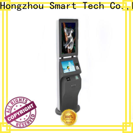 professional self service ticketing kiosk with wifi on bus station
