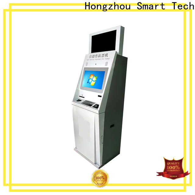 touch screen ticketing kiosk company on bus station