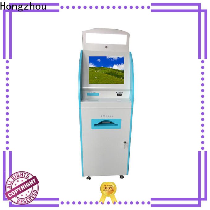 Hongzhou patient self check in kiosk operated for sale