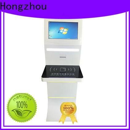 Hongzhou library kiosk system manufacturer for sale