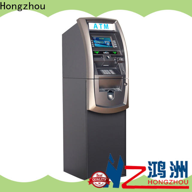 Hongzhou high-quality exchange kiosk supply for bill payment