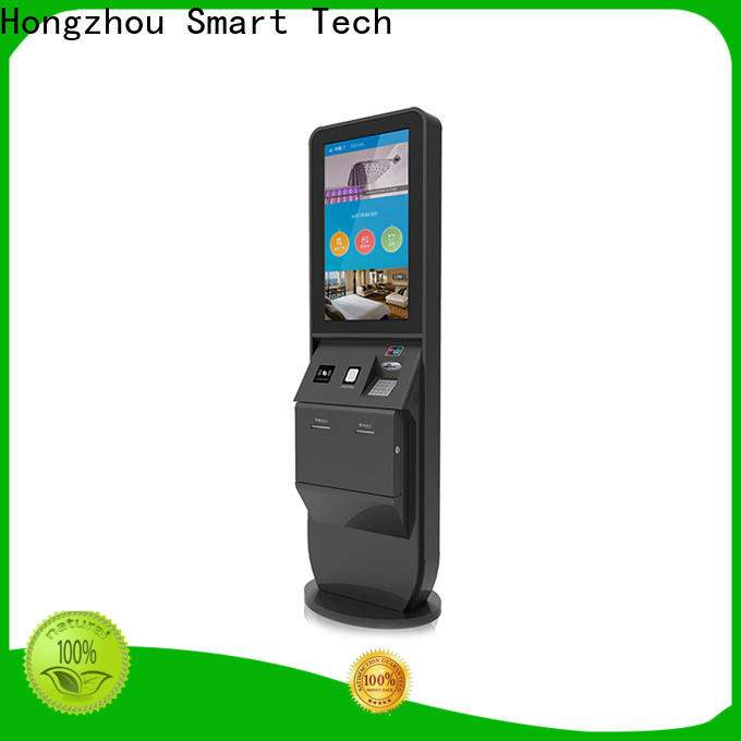 wholesale hotel self check in machine with card reader in villa