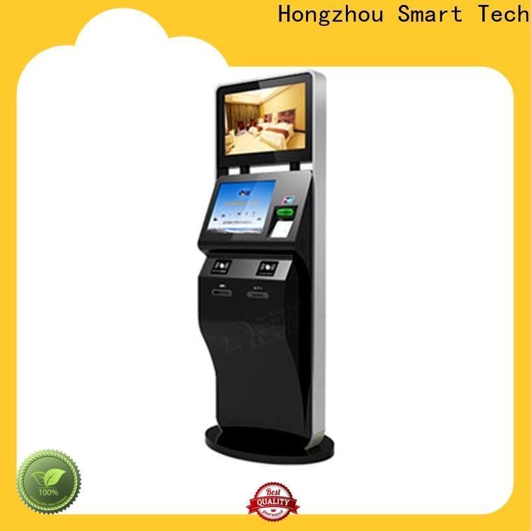 Hongzhou top self service ticketing kiosk with printer for sale
