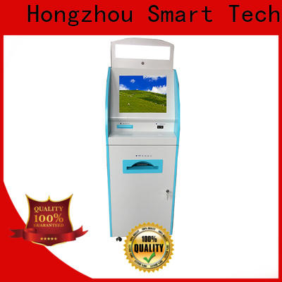 Hongzhou capacitive hospital check in kiosk operated for patient