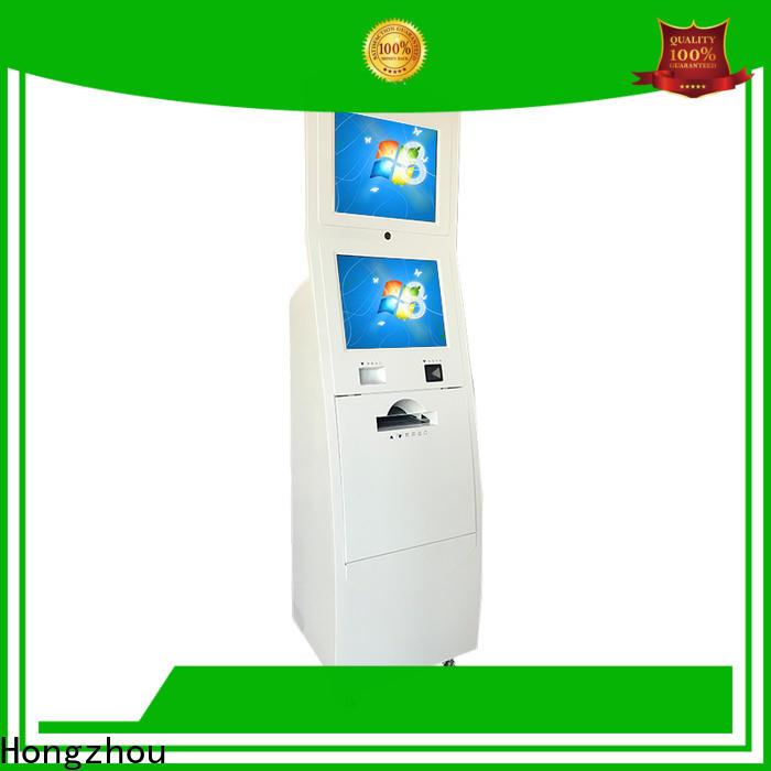 Hongzhou top information kiosk supplier in bar