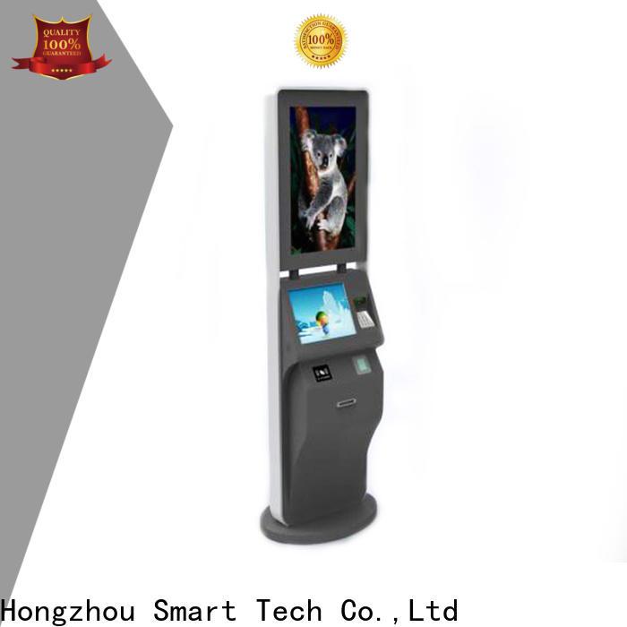 Hongzhou ticketing kiosk with camera in cinema