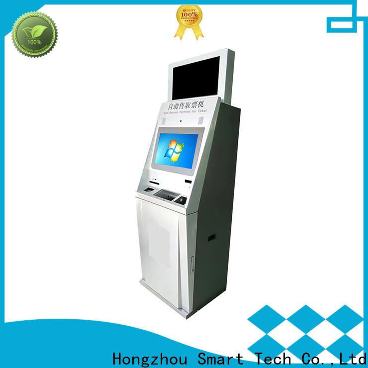 Hongzhou ticket kiosk machine manufacturer on bus station