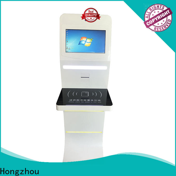 latest library self service kiosk with logo for sale