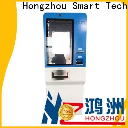Hongzhou payment kiosk keyboard in hotel