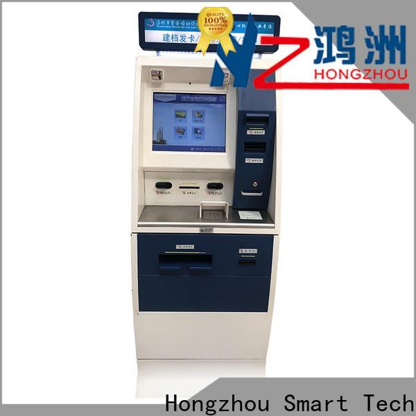 Hongzhou internet hospital check in kiosk key in hospital