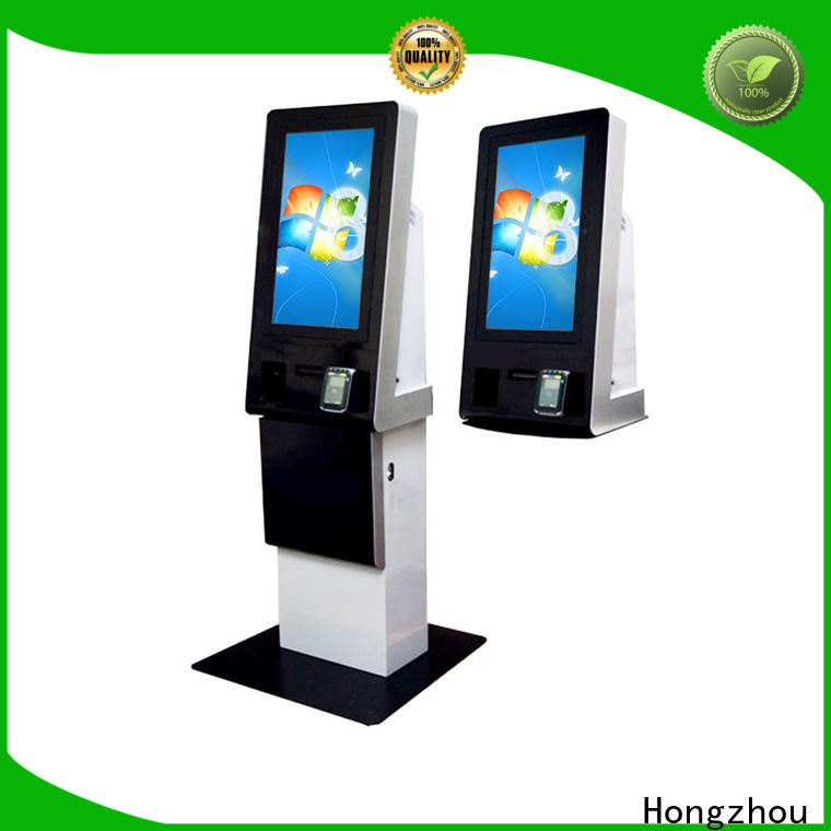 Hongzhou pay kiosk for busniess in bank