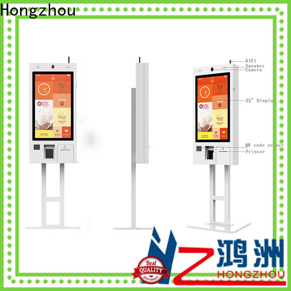 Hongzhou best ordering kiosk manufacturers for fast food store