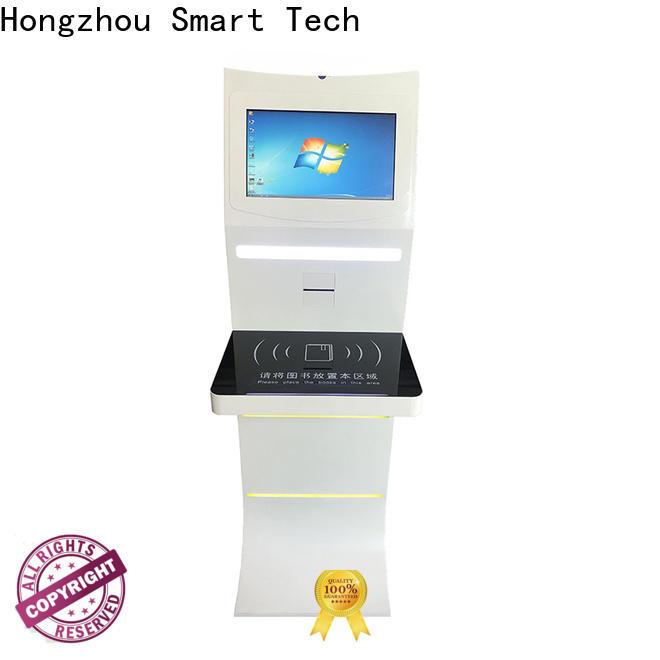 Hongzhou library self checkout kiosk manufacturer for books