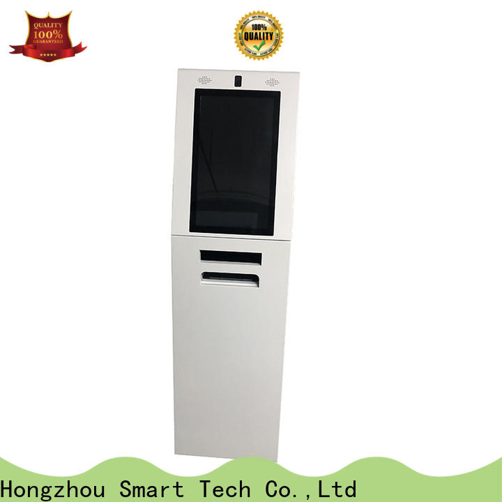 Hongzhou thermal information kiosk with printer in airport