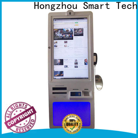 Hongzhou patient self check in kiosk with coin for sale