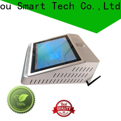 Hongzhou touch screen hospital check in kiosk with coin for sale