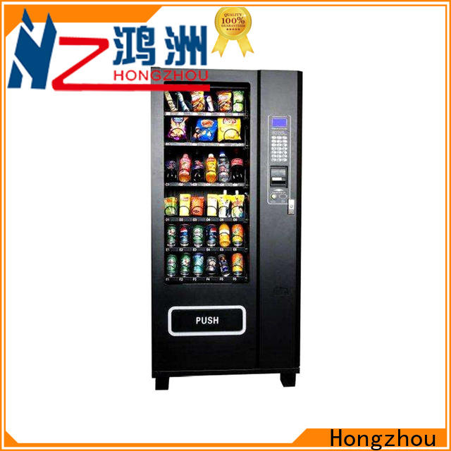 Hongzhou automatic vending machine company for airport