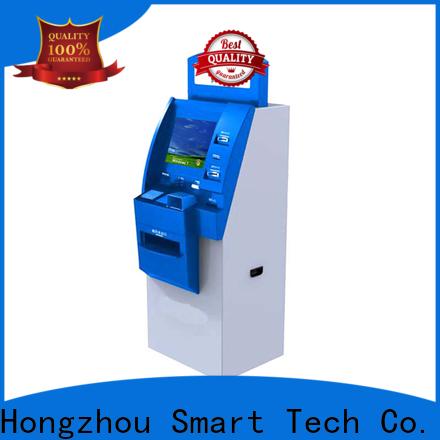 Hongzhou hospital check in kiosk for line up in hospital