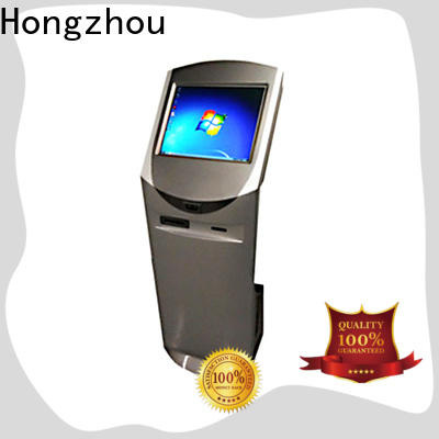 thermal touch screen information kiosk for busniess in bar