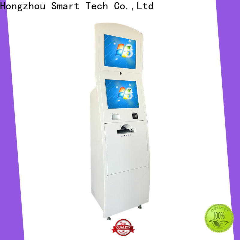 routing digital information kiosk company in airport